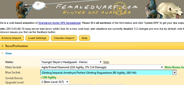 Zeherah has implemented the changes slated thus far for 5.3 on the beta version of her Femaledwarf online spreadsheet, and the theory-crafters at Elitist Jerks have been working to establish […]